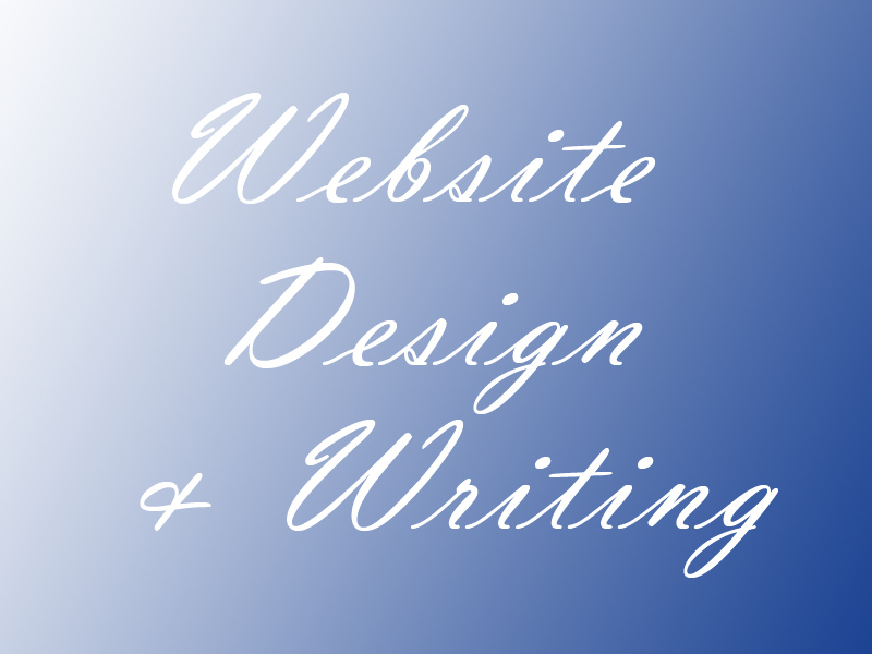 Website Design and Writing